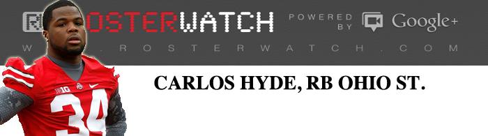 Carlos Hyde Invite