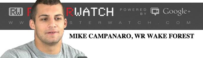 MIKE CAMPANARO INVITE