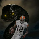 josh Gordon black anaconda