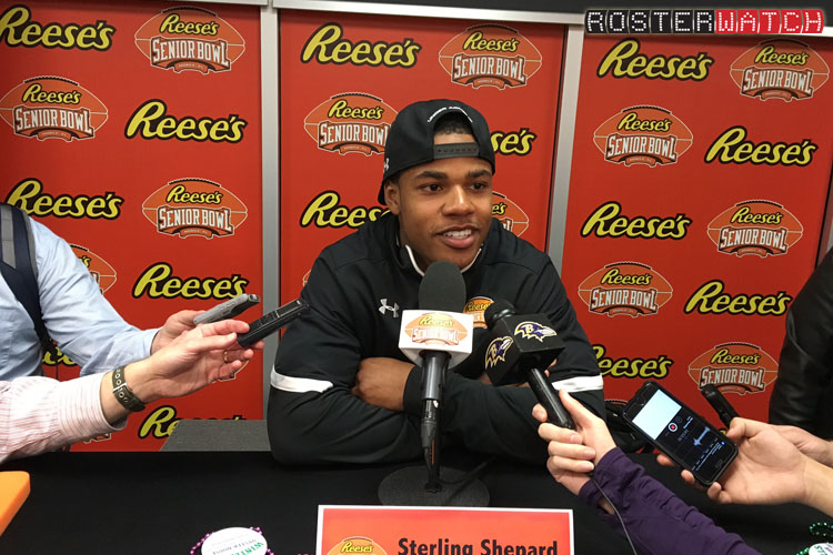 Sterling Shepard 750 Senior Bowl
