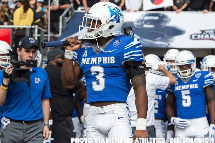 Anthony Miller By Ben Solomon Memphis Athletics 750